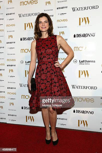 Actress Betsy Brandt attends the Moves 2014 Power Women Gala at India House Club on November 14 2014 in New York City