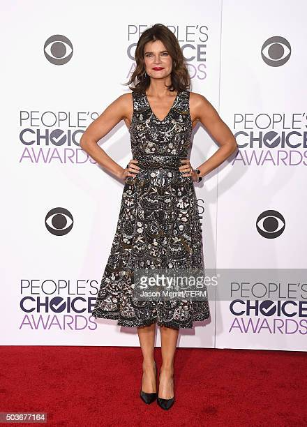 Actress Betsy Brandt attends the People's Choice Awards 2016 at Microsoft Theater on January 6 2016 in Los Angeles California