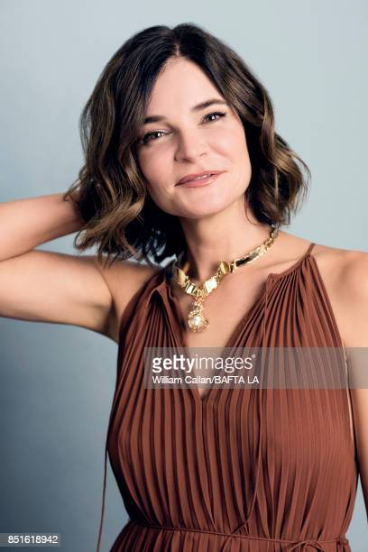 Actress Betsy Brandt poses for a portrait BBC America BAFTA Los Angeles TV Tea Party 2017 at the The Beverly Hilton Hotel on September 16 2017 in...
