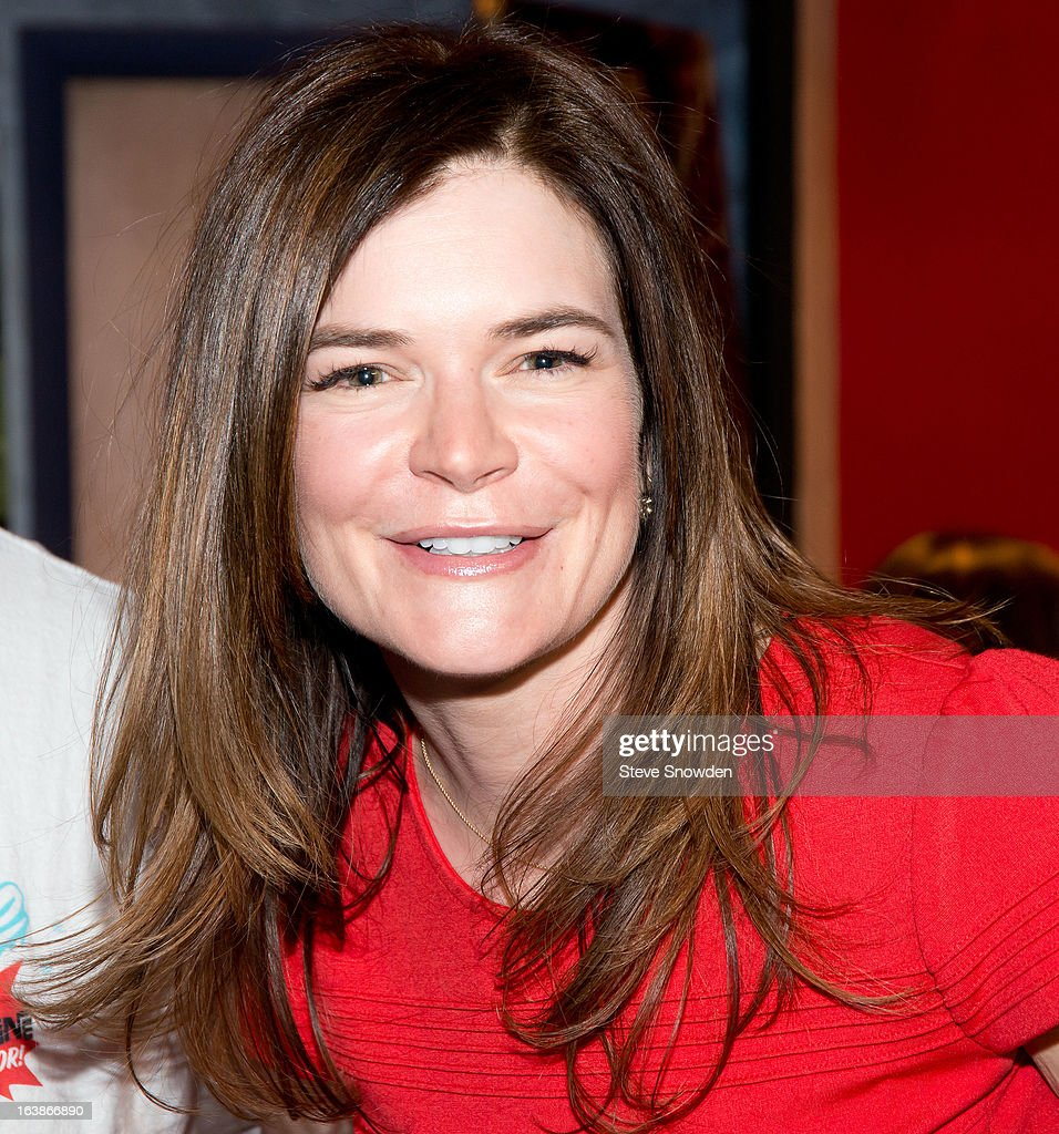 Actress <a gi-track='captionPersonalityLinkClicked' href=/galleries/search?phrase=Betsy+Brandt&family=editorial&specificpeople=4819893 ng-click='$event.stopPropagation()'>Betsy Brandt</a> poses prior to participating in a tribute during the ABQ Studios And Youth Development Inc. Honor The Cast Of 'Breaking Bad' on at Albuquerque Studios on March 16, 2013 in Albuquerque, New Mexico.