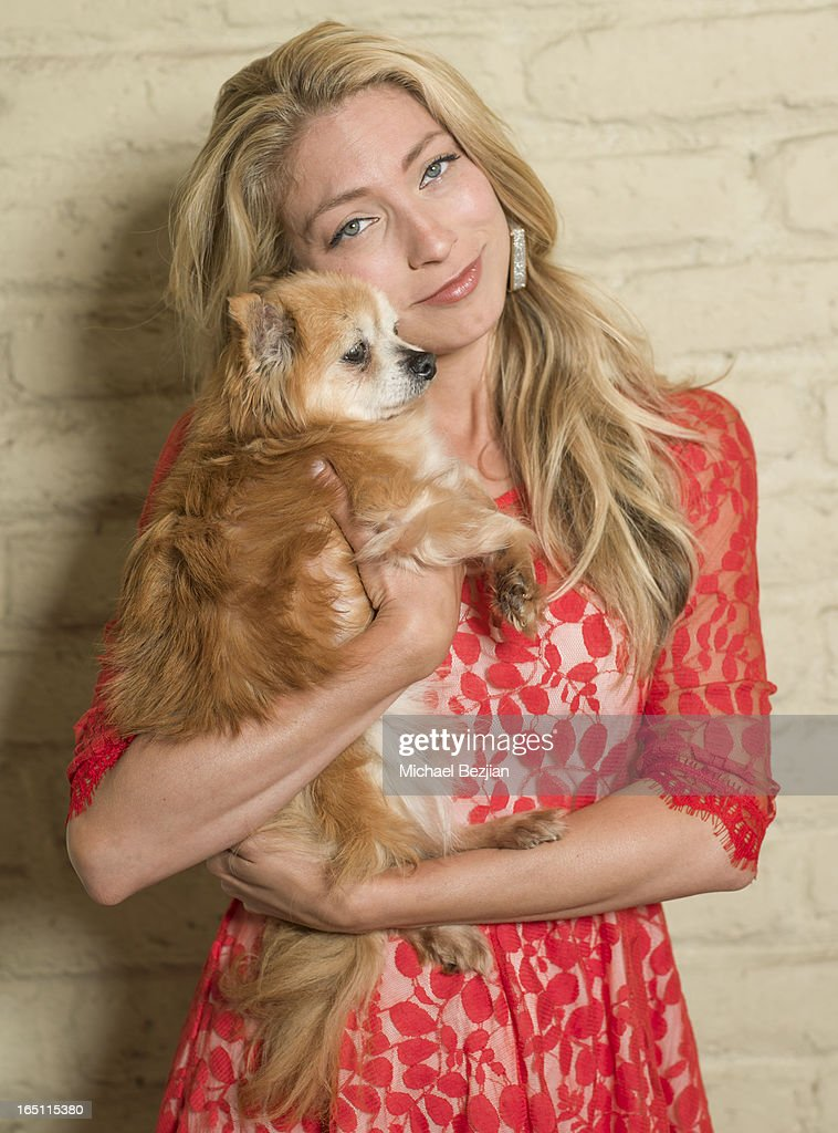 Actress Betsy Cox attends Posing Heroes, 'A Dog Day Afternoon' benefiting A Wish For Animals on March 30, 2013 in Los Angeles, California.