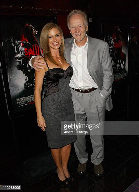 Actress Betsy Russell and actor Tobin Bell arrive at the Los Angeles cast and crew screening of Lionsgate's 'SAW IV' held at Mann's Chinese 6 Theater...