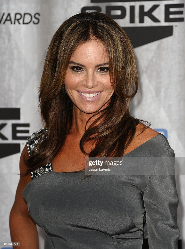 Actress Betsy Russell attends Spike TV's 2011 Scream Awards at Gibson Amphitheatre on October 15, 2011 in Universal City, California.
