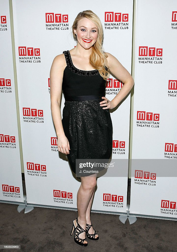 Actress Betsy Wolfe attends the 2012 Manhattan Theatre Club Benefit: An Intimate Night at Jazz at Lincoln Center on January 28, 2013 in New York City.