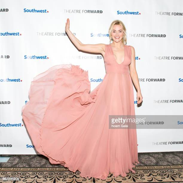 Actress Betsy Wolfe attends the 2017 Theatre Forward's Chairman's Awards Gala at The Pierre Hotel on April 3 2017 in New York City