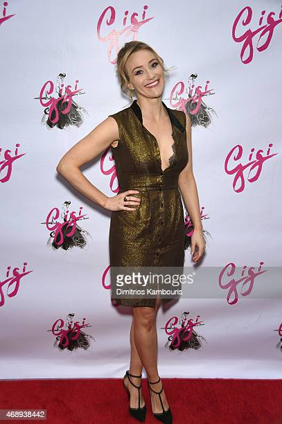Actress Betsy Wolfe attends the 'Gigi' Broadway Opening Night at Neil Simon Theatre on April 8 2015 in New York City