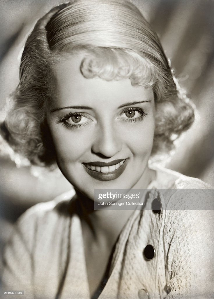 Actress Bette Davis in a publicity shot for Ex-Lady.