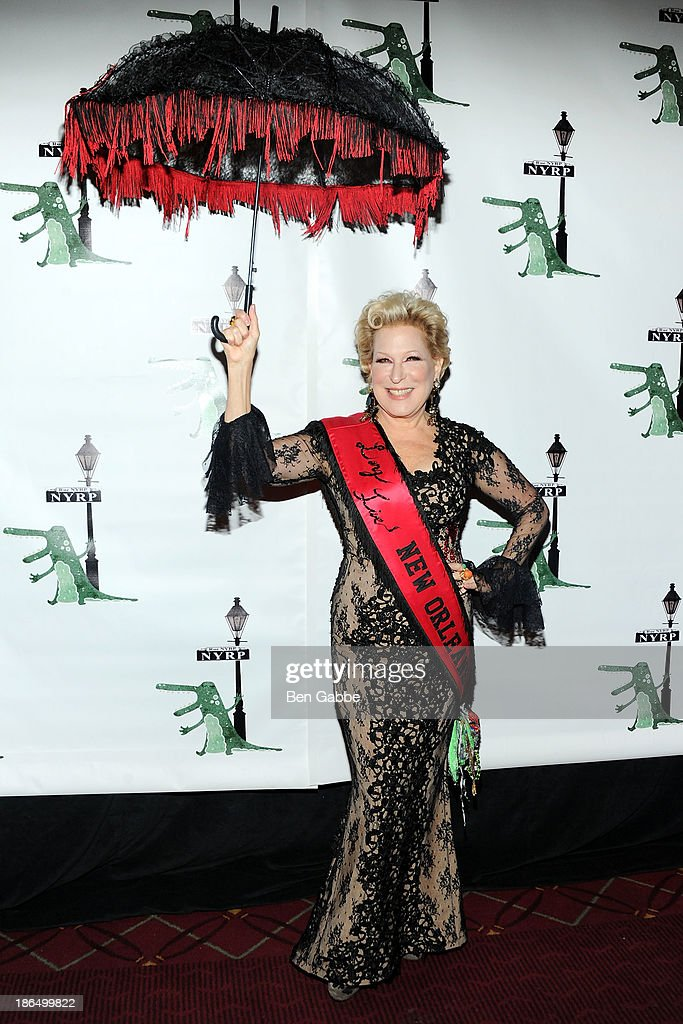 Actress Bette Midler attends the 18th Annual 'Hulaween In The Big Easy' Event at The Waldorf=Astoria on October 31, 2013 in New York City.