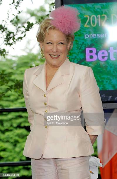 Actress Bette Midler attends the 2012 Doris C Freedman Award Ceremony at Gracie Mansion on May 16 2012 in New York City