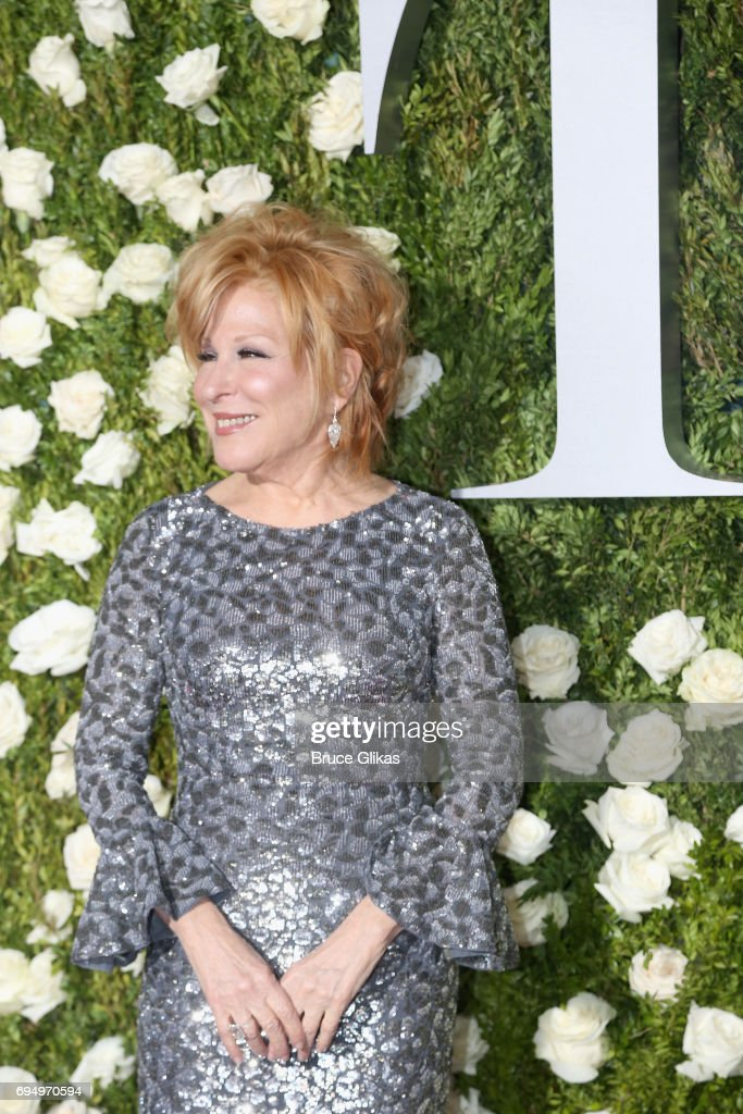 Actress Bette Midler attends the 71st Annual Tony Awards at Radio City Music Hall on June 11, 2017 in New York City.