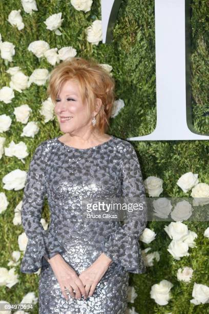 Actress Bette Midler attends the 71st Annual Tony Awards at Radio City Music Hall on June 11 2017 in New York City