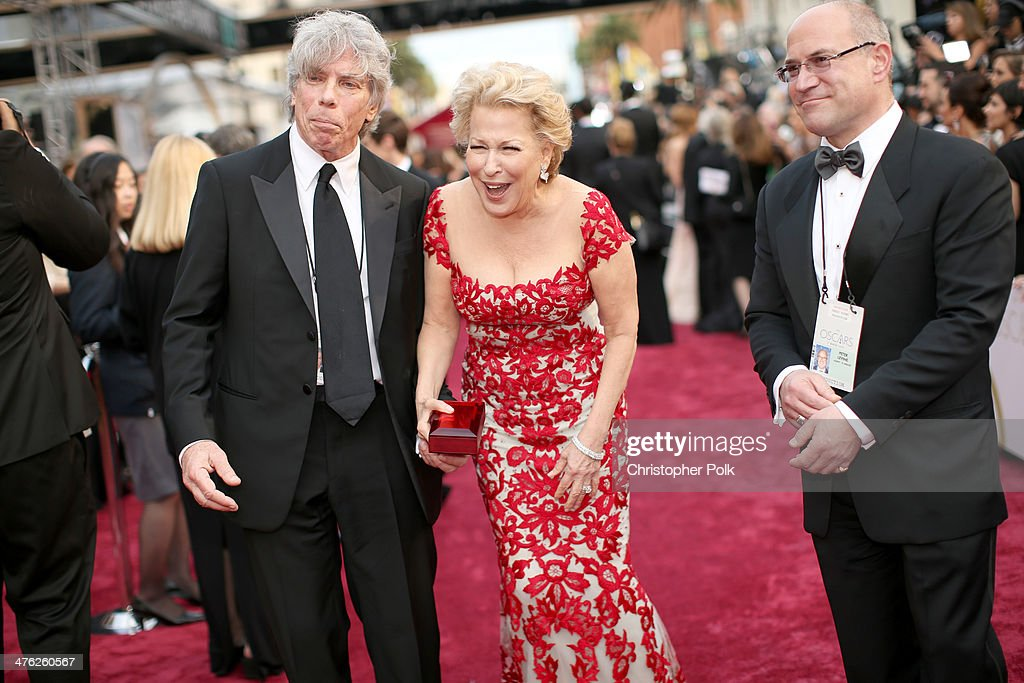 Actress Bette Midler attends the Oscars held at Hollywood & Highland Center on March 2, 2014 in Hollywood, California.