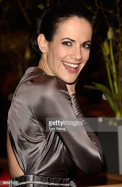 Actress Bettina Zimmermann attends the 'Tuan Yuan' Premiere during day one of the 60th Berlin International Film Festival at the Berlinale Palast on...