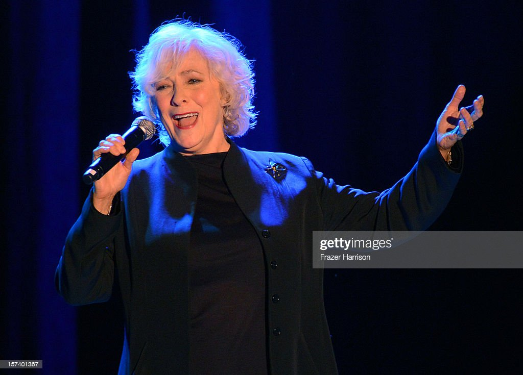 Actress <a gi-track='captionPersonalityLinkClicked' href=/galleries/search?phrase=Betty+Buckley&family=editorial&specificpeople=224693 ng-click='$event.stopPropagation()'>Betty Buckley</a> onstage at 'Trevor Live' honoring Katy Perry and Audi of America for The Trevor Project held at The Hollywood Palladium on December 2, 2012 in Los Angeles, California.
