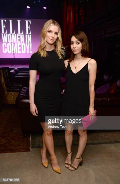 Actress Betty Gilpin and guest attend as ELLE hosts Women In Comedy event with July Cover Star Kate McKinnon at Public Arts on June 13 2017 in New...
