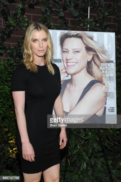 Actress Betty Gilpin attends as ELLE hosts Women In Comedy event with July Cover Star Kate McKinnon at Public Arts on June 13 2017 in New York City