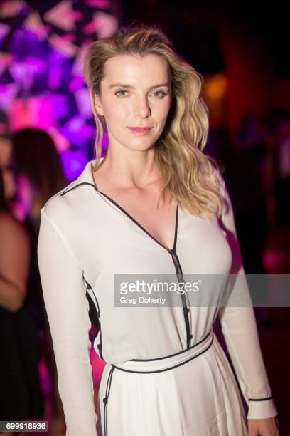 Actress Betty Gilpin attends the Premiere Of Netflix's 'GLOW' After Party at Florentine Gardens on June 21 2017 in Los Angeles California