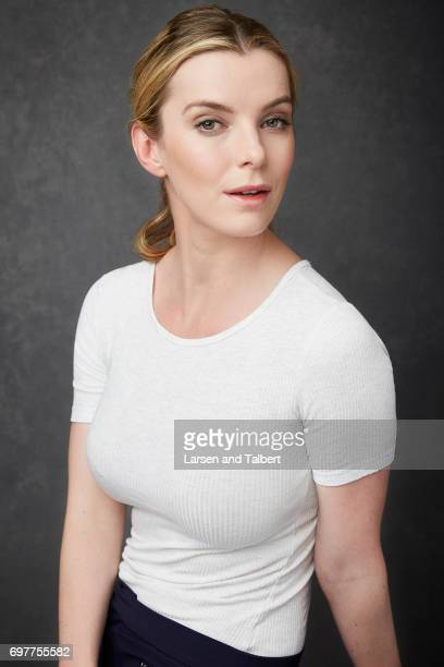 Actress Betty Gilpin 'GLOW' is photographed for Entertainment Weekly Magazine on June 11 2017 in Austin Texas