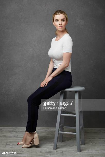 Actress Betty Gilpin of Netflix's 'GLOW' is photographed for Entertainment Weekly Magazine on June 11 2017 in Austin Texas
