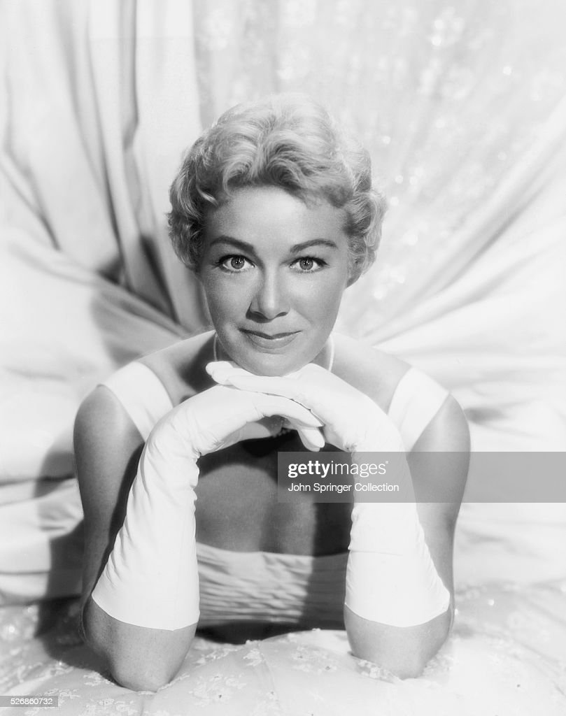 Black gloves for gown - Actress Betty Hutton In Evening Gown And Gloves