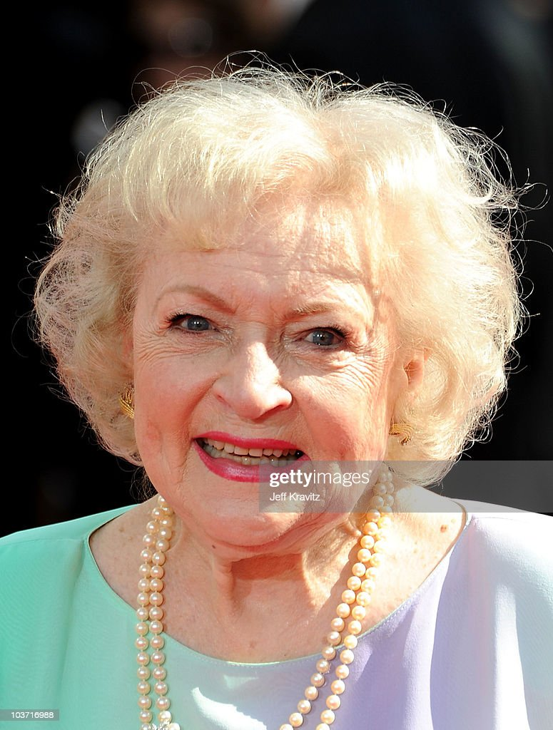 Actress Betty White arrives at the 62nd Annual Primetime Emmy Awards held at the Nokia Theatre L.A. Live on August 29, 2010 in Los Angeles, California.