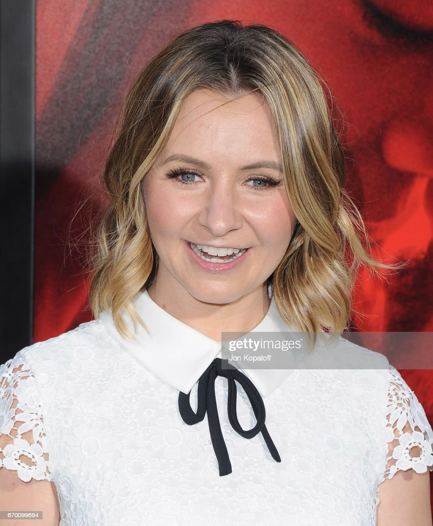 Actress Beverley Mitchell arrives at the Los Angeles Premiere 'Unforgettable' at TCL Chinese Theatre on April 18, 2017 in Hollywood, California.