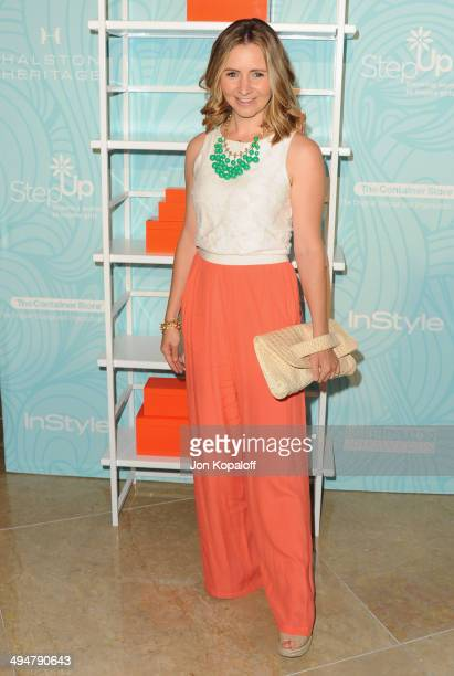 Actress Beverley Mitchell arrives at the Step Up 11th Annual Inspiration Awards at The Beverly Hilton Hotel on May 30 2014 in Beverly Hills California