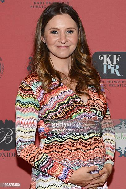 Actress Beverley Mitchell attends Kari Feinstein's PreGolden Globes Style Lounge at the W Hollywood on January 11 2013 in Hollywood California