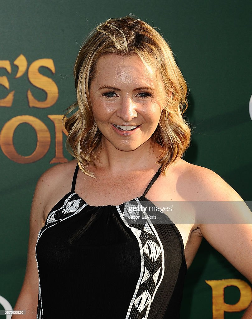 Actress Beverley Mitchell attends the premiere of 'Pete's Dragon' at the El Capitan Theatre on August 8 2016 in Hollywood California