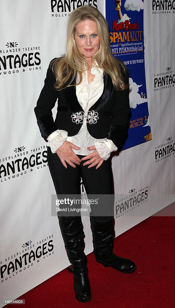 Actress Beverly D'Angelo attends the opening night of 'Monty Python's Spamalot' at the Pantages Theatre on February 28, 2012 in Hollywood, California.