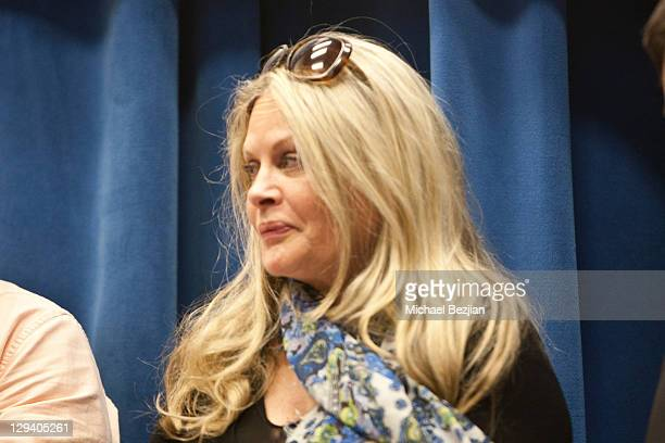 Actress Beverly D'Angelo attends Young Storytellers Foundation Hosts An Evening With Stars From HBO's 'Entourage' at Carthay Center Elementary School...