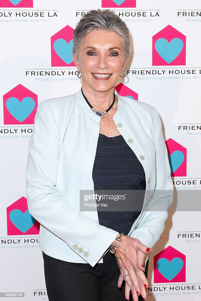 Actress Beverly Sassoon arrives at the Friendly House Los Angeles Annual Awards Luncheon at The Beverly Hilton Hotel on October 26, 2013 in Beverly Hills, California.