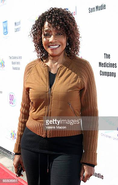 Actress Beverly Todd arrives at the 11th Annual Day of The Child Event on November 22 2009 in Santa Monica California