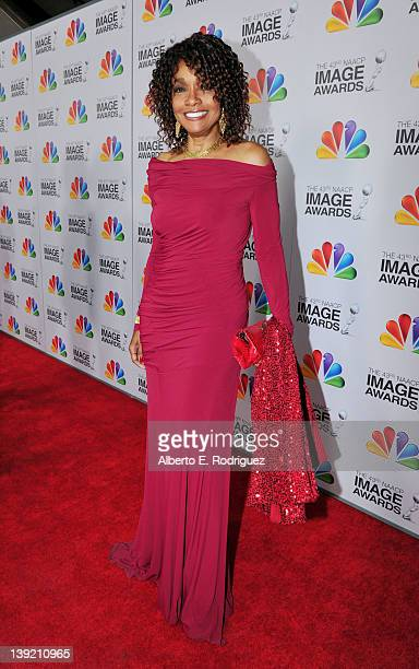 Actress Beverly Todd arrives at the 43rd NAACP Image Awards held at The Shrine Auditorium on February 17 2012 in Los Angeles California