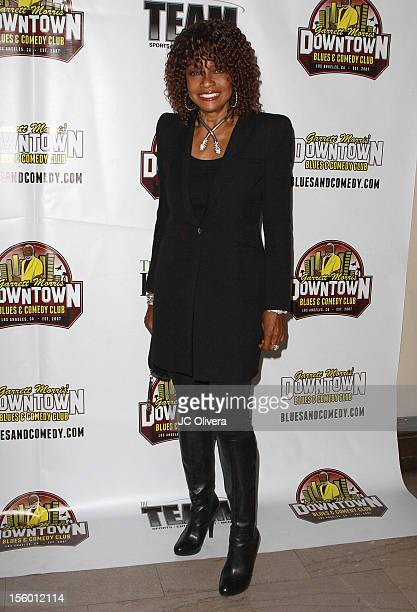 Actress Beverly Todd attends the Grand ReOpening Of Garrett Morris Downtown Blues Comedy Club at Garrett Morris Downtown Blues Comedy Club on...