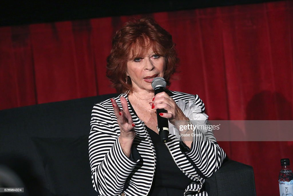 Actress Beverly Washburn speaks onstage at 'Old Yeller' screening during day 4 of the TCM Classic Film Festival 2016 on May 1, 2016 in Los Angeles, California. 25826_009