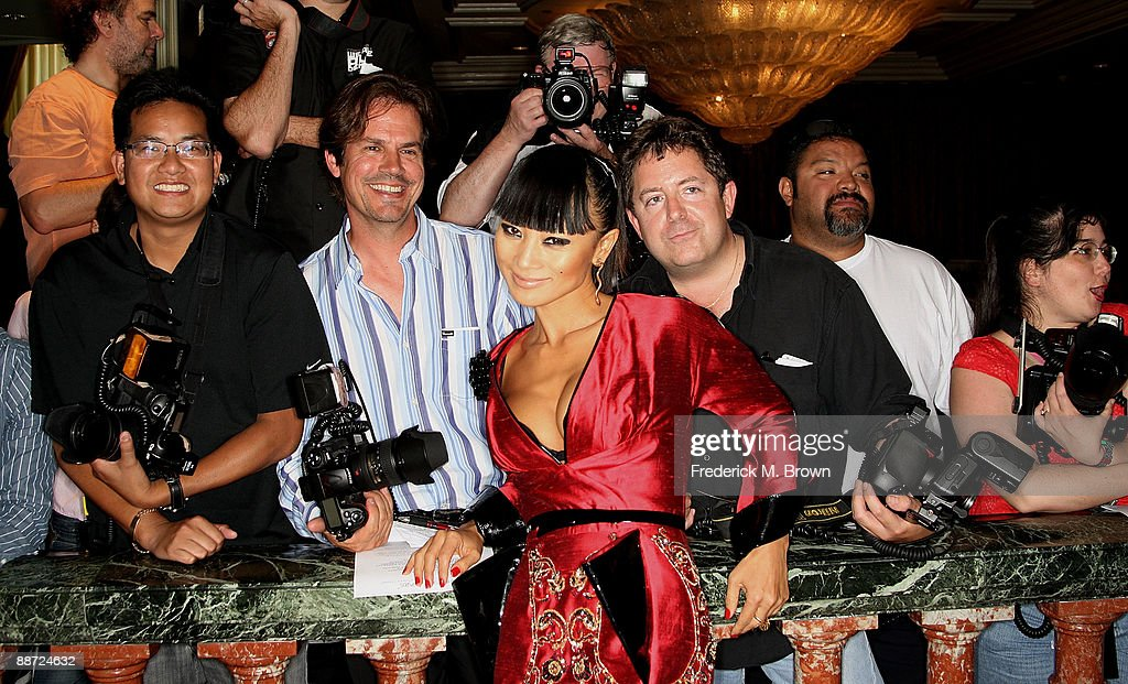 Actress Bia Ling poses with photographers during the 36th annual Vision Awards at the Beverly Wilshire Hotel on June 27, 2009 in Beverly Hills, California.