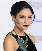 Actress Bianca A Santos arrives at the Los Angele Premiere 'The Hunger Games Mockingjay Part 1' at Nokia Theatre LA Live on November 17 2014 in Los...