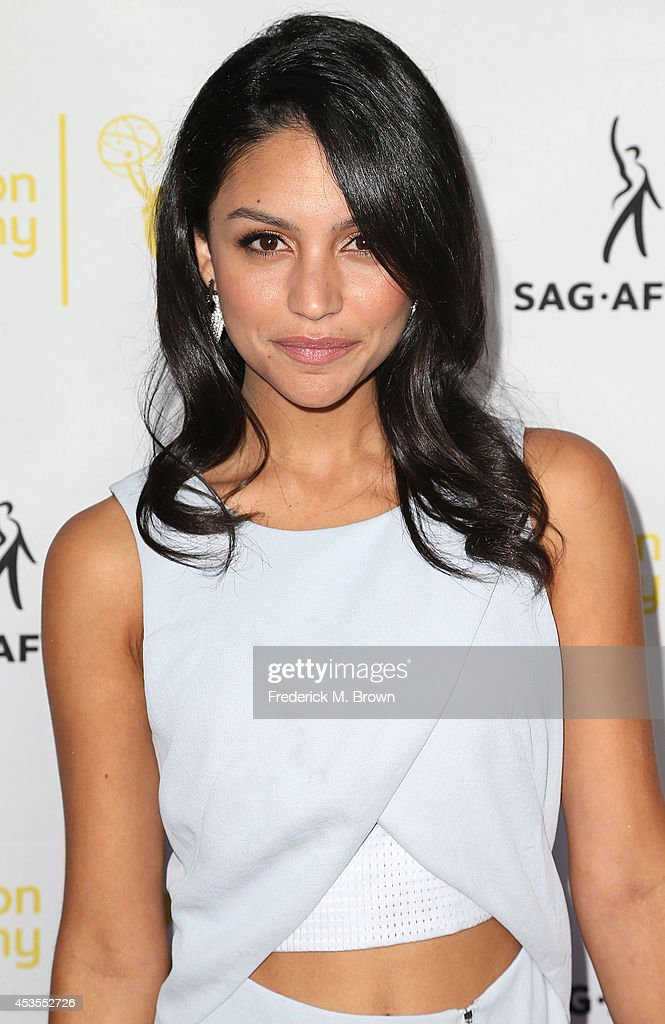 Actress Bianca A. Santos attends the Television Academy and SAG-AFTRA Presents Dynamic & Diverse: A 66th Emmy Awards Celebration of Diversity at the Leonard H. Goldenson Theatre on August 12, 2014 in North Hollywood, California.