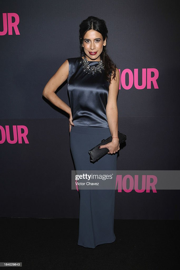 Actress Bianca Calderon attends the Glamour Magazine 15th Anniversary at Casino Del Bosque on October 10, 2013 in Mexico City, Mexico.