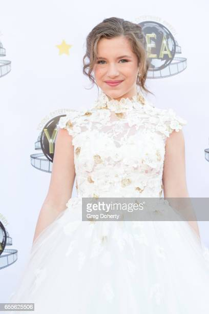 Actress Bianca D'Ambrosio attends the 2nd Annual Young Entertainer Awards at The Globe Theatre on March 19 2017 in Universal City California