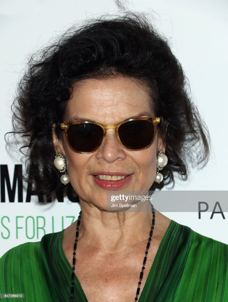 Actress Bianca Jagger attends the 'Manolo: The Boy Who Made Shoes For Lizards' world premiere hosted by Manolo Blahnik with The Cinema Society at The Frick Collection on September 14, 2017 in New York City.