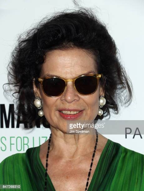 Actress Bianca Jagger attends the 'Manolo The Boy Who Made Shoes For Lizards' world premiere hosted by Manolo Blahnik with The Cinema Society at The...
