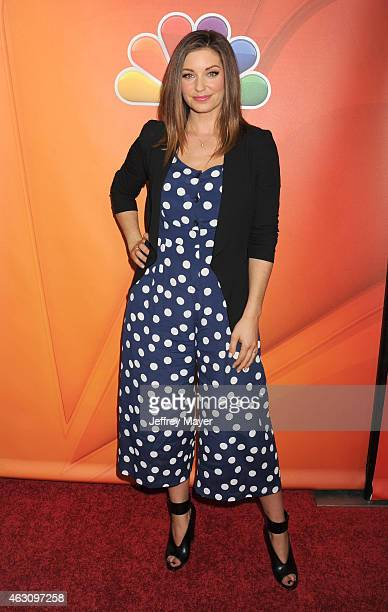 Actress Bianca Kajlich attends the NBCUniversal 2015 Press Tour at the Langham Huntington Hotel on January 16 2015 in Pasadena California