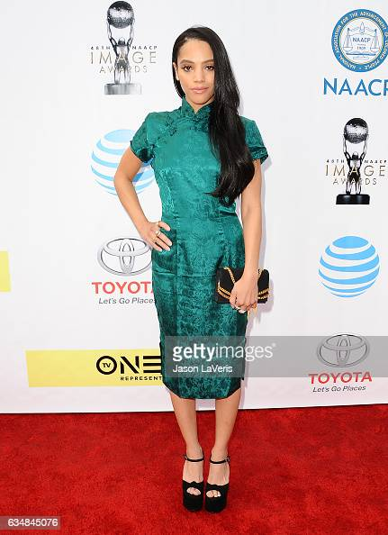 Actress Bianca Lawson attends the 48th NAACP Image Awards at Pasadena Civic Auditorium on February 11 2017 in Pasadena California