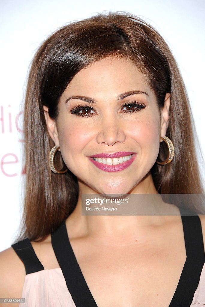 Actress <a gi-track='captionPersonalityLinkClicked' href=/galleries/search?phrase=Bianca+Marroquin&family=editorial&specificpeople=3107648 ng-click='$event.stopPropagation()'>Bianca Marroquin</a> attends the 8th Annual National High School Musical Theatre Awards at Minskoff Theatre on June 27, 2016 in New York City.