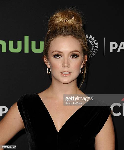 Actress Billie Lourd attends the 'Scream Queens' event at the 33rd annual PaleyFest at Dolby Theatre on March 12 2016 in Hollywood California