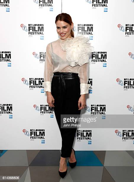 Actress Billie Piper attends the 'City Of Tiny Lights' screening in association with Mobo Films during the 60th BFI London Film Festival at...