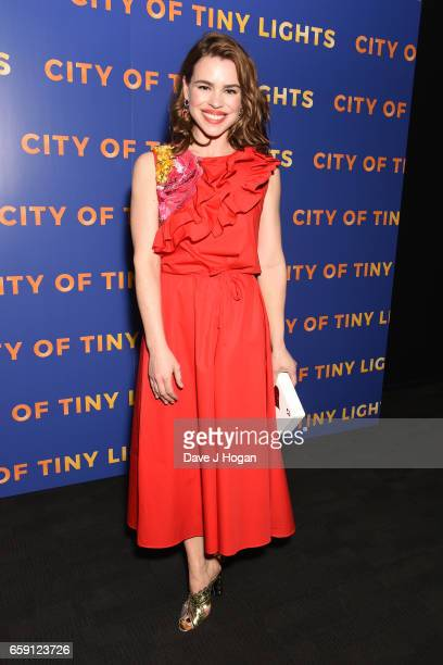 Actress Billie Piper attends the photocall of 'City of Tiny Lights' on March 28 2017 in London United Kingdom