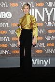 Actress Birgitte Hjort Sorensen attends the New York premiere of 'Vinyl' at Ziegfeld Theatre on January 15 2016 in New York City